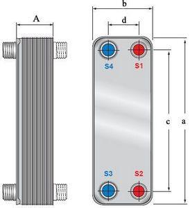 Испаритель alfa laval ac 500 Паяный пластинчатый теплообменник SWEP V25T Рязань