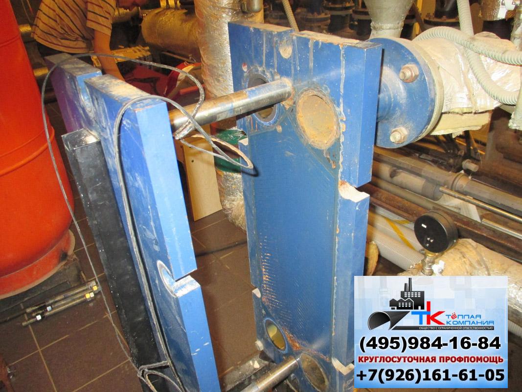 Замена теплообменников в котельной Пластины теплообменника Alfa Laval T50-MFG Уфа