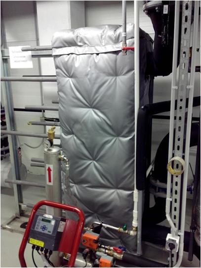 Теплоизоляция теплообменника пластинчатого Кожухотрубный испаритель Alfa Laval DXS 420R Архангельск